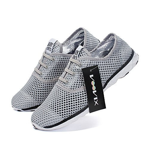 Voovix Light Water Water Chaussures Pour Les Hommes Gris