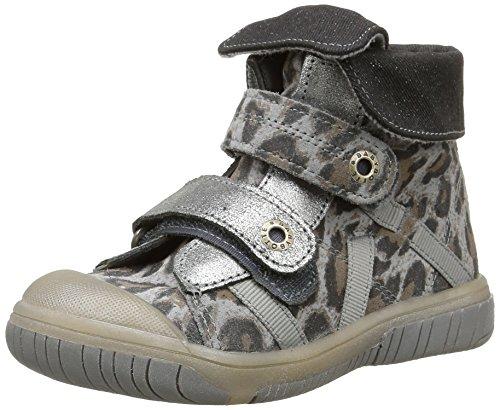 Babybotte - Acteur2, Sneakers per bambine e ragazze, grigio (417 gris panthère), 22