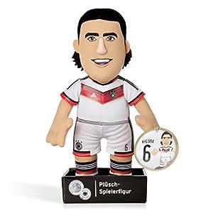 Jouet en peluche de l'équipe de Football d'Allemagne, lecteur Sami Khedira équipe nationale allemande, Coupe du Monde 2014