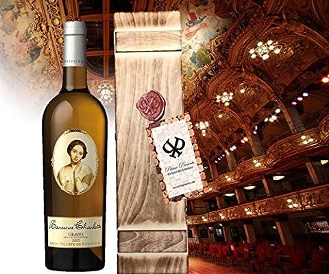 Die Königin der Weissweine| Wein-geschenkset für Frauen| Baron Philippe de Rotschild 'Baroness Charlotte
