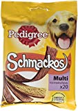 Best Dog Chew Treats - Pedigree Schmackos Dog Treats Meat Variety, 20 Stick Review