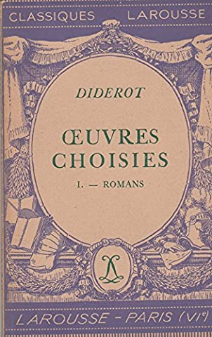 oeuvres choisis tome 1 romans