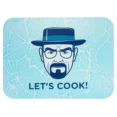 getDigital 12090-M Oval Let's Cook Planche à découper Planche à découper, plastique, multicolore, 39x 29x 0,4cm