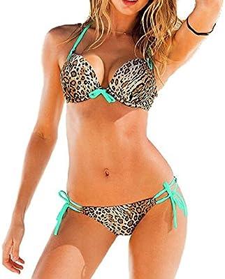 Embryform manera de las mujeres sujetador con relleno empuja hacia arriba atractivo de baño bikini de trajes de baño