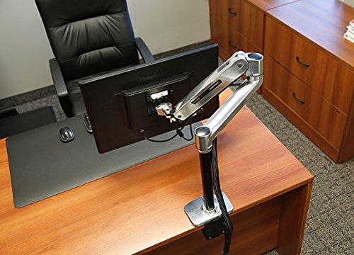 Ergotron 45-360-026 - LX Sit Stand, Desk Mount LCD Arm, Polished (Ergotron Sit-stand Desk)