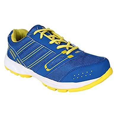 Oxtar Men Lace Up Blue Synthetic Sports Shoes (Oxtar-611) (10)