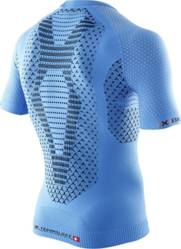 X-Bionic Running TWYCE Shirt Short Sleeve Men 2016 Laufshirt French Blue/Black