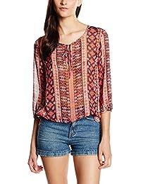 More & More Damen Bluse Bluse 3/4 Arm Normal