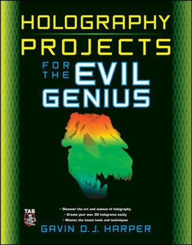 Holography Projects for the Evil Genius -