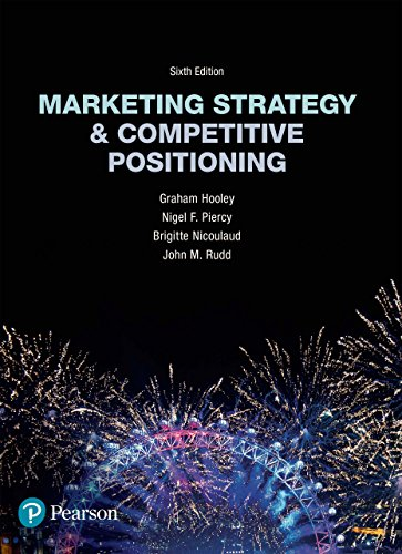 Download Google e-Books Marketing Strategy and Competitive Positioning
