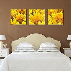 Idea Regalo - Stampa su tela/Quadro su tela, Girasole Stampa in qualita fotografica, senza telaio Wall Art Decorazioni per la casa LianLe