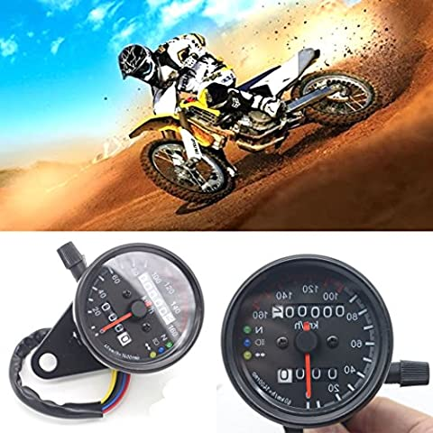 DongZhen Motorcycle Odometer Tachometer LED Light for Kawasaki Ducati Motorbike 1Pcs