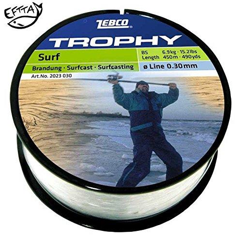 Zebco Topic Surfcast Specialine Monofile Schnur -