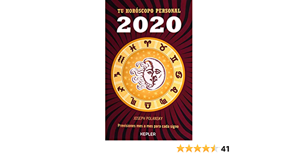 2020 Tu Horoscopo Personal Amazon Co Uk Polansky Joseph 9788416344413 Books