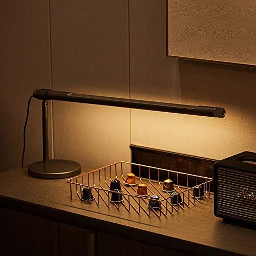 Yan Guo00 Sensorleuchte, Batteriebetriebenes LED-Nachtlicht Aus Aluminium Für Innenräume, Faltbarer Berührungssensor Ideal Für Schreibtisch, Computertisch,Gray -
