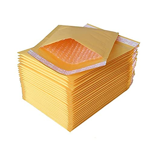 10 * 14 Inch Yellow Paper Envelope Mailing Padded bubbles Mailers 15Pcs