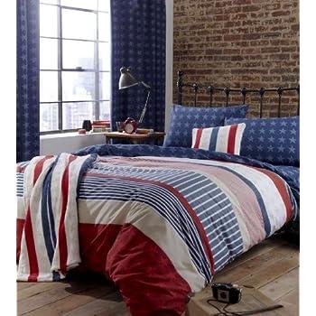 vintage union jack bedding images. Black Bedroom Furniture Sets. Home Design Ideas