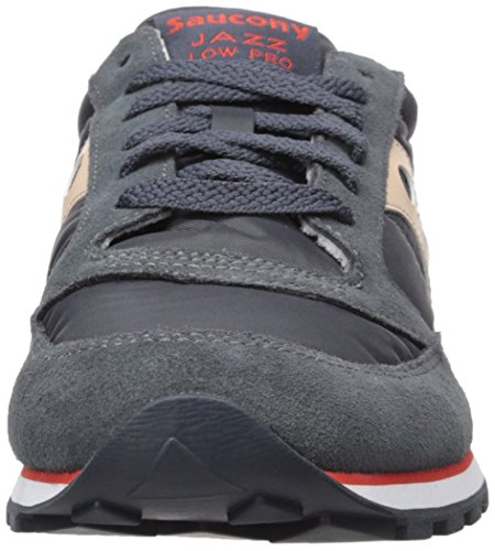 Saucony Jazz Low Pro, Scape per Sport Outdoor Donna Charcoal Tan