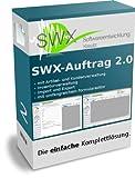 SWX-Auftrag -das einfache Rechnungsprogramm - komplette netzwerkfähige Auftragsverwaltung, unbegrenzt nutzbar, mehrere Firmen verwaltbar