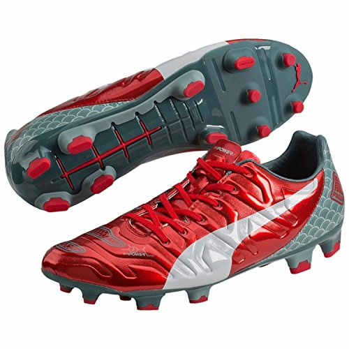 Puma Evopower 2.2 Graphic Fg, Chaussures de football homme rouge