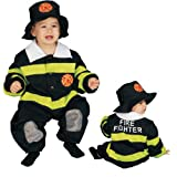 Dress up America Disfraz de bombero para bebés: Talla 9-12 meses