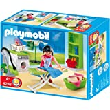 Playmobil 4286 jeu de construction chambre de b b for Playmobil chambre bebe