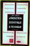 LA TRADUCTION SCIENTIFIQUE ET TECHNIQUE. 2ème édition...