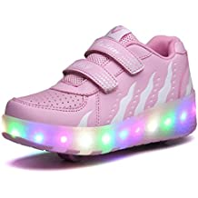 Jomotala brillante roller skate shoes sneaker shoes colores multi led con dos ruedas niñas niños sport casual shoes zapatilla ligera