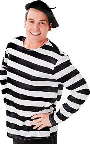 Unisex Kleid Kostüm Party Kopfbedeckung Zubehör Französisch Künstler Baskenmütze Einheitsgröße - Schwarz, Einheitsgröße, Einheitsgröße