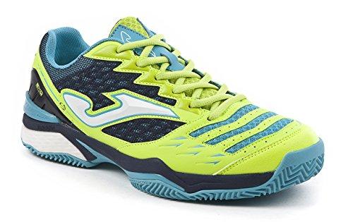 Joma Ace, Chaussures de Tennis Homme Jaune (Fluor)