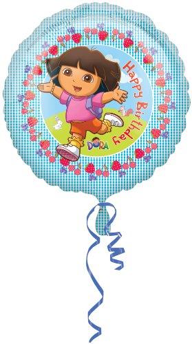 Dora The Explorer Alles Gute zum Geburtstag Folienballons (nicht aufgeblasenen)