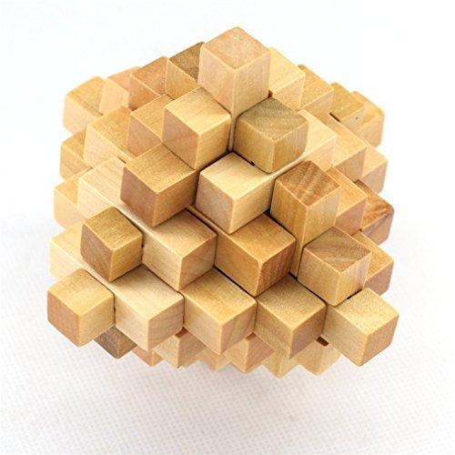 Joyeee® Legno Rompicapo Torsione Cube Puzzle Game 3D - Gioco di Mente Cubo - #7