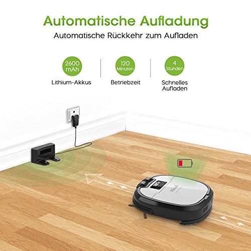 saugroboter holife staubsaugroboter roboterstaubsauger. Black Bedroom Furniture Sets. Home Design Ideas