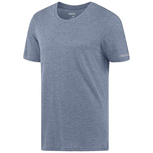 Reebok Crossfit Men's Blue Tri-Blend Crewneck T-Shirt (L) -