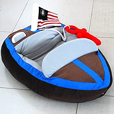 CSDAHigh-grade warming yacht pet nest high-grade warming yacht Teddy boat personalized dog bed from CSDA