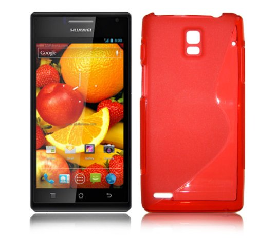 red-s-line-style-gel-case-for-huawei-ascend-p1
