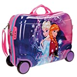Disney ABS Maleta Rigida Cabina Ruedas Trolley Convertible en Mochila (02 Frozen)