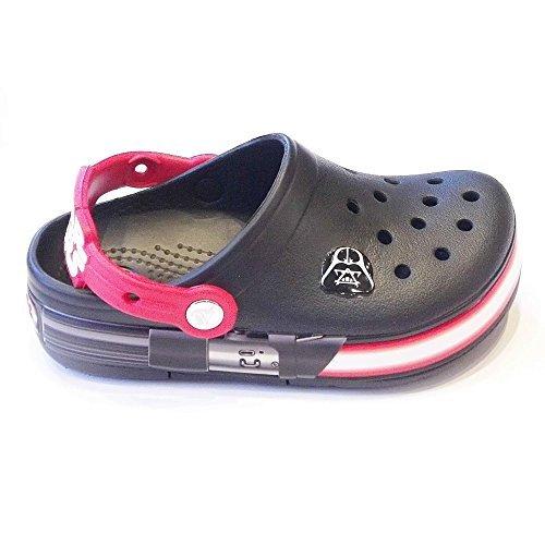 crocs Kids - CrocsLights Star Wars Vader - Black Flame, Größe:25-26
