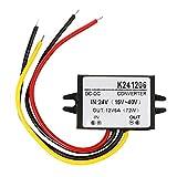 Convertisseur électrique Volt Module DC Puissance Régulateur 24v vers 12v 6A 60w Cas en Aluminium
