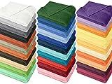 Frottiertücher der Serie Opal – erhältlich in 33 modernen Farben und 7 verschiedenen Größen -Markenqualität von Dyckhoff, 1 Pack (3 Stück) – Handtücher [50 x 100 cm], marine - 8