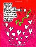 20 tarjetas en un libro libro de colorear Corazones encantadores Flores estrellas Colorea la tarjeta escribe un mensaje Por el artista Grace Divine