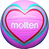Best Beach Volleyballs - molten Beach Volleyball pink/blau/rot Size:5 Review
