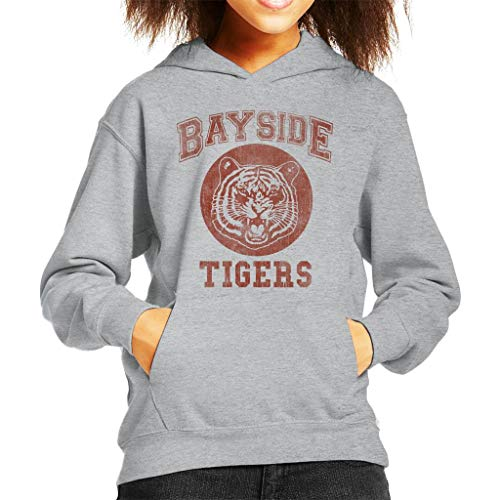 Saved by The Bell Inspired Bayside Tigers Kid's Hooded Sweatshirt -
