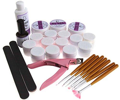 uv-gel-nagel-art-set-12-rein-farbe-acryl-erbauer-brste-datei-top-coat-plier
