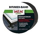 MEM 500484 Bitumen-Band blei 10 cm x 10 m