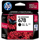 #5: HP 678 Black Ink Advantage Cartridge (CZ107AA)