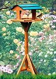 Vogelhaus mit Ständer wetterfest