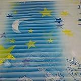 DooXoo PVC impermeabile-smerigliato finestra casa bagno camera da letto ufficio privacy pellicola protettiva in vetro sticker, PVC, Blue Moon Star, 45 by 200cm / 17.7 by 78.7 inches