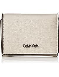 Calvin Klein Damen Giftset: Small Wallet+Keyfob Geldbörse, 8x3x11 cm