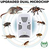 Koyet Pest Control Ultrasonic Pest Repeller, Electronic Plug in Repellent Indoor for Insects, Mosquitoes, Mice, Spiders, Ants, Rats, Roaches, Non-Toxic, Humans & Pets Safe